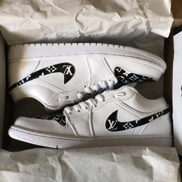 Custom Nike Louis Vuitton Air Jordans